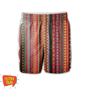 Pattern 01 - All Over Printed Shorts