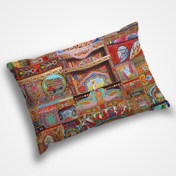 Truck Art - Pillow Cover