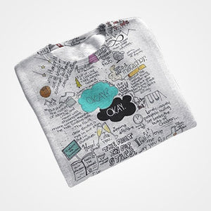 Okay Okay Collage - All Over Printed T-Shirts