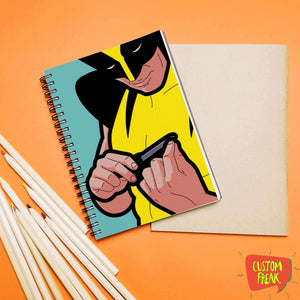 Wolverine Funny Comic - Notebook