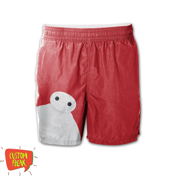 Baymax - Graphic Printed Shorts