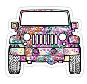 Jeep - Cutout Sticker