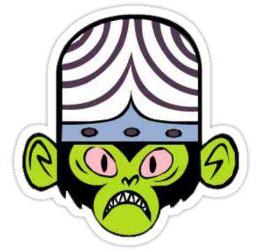 Mojo Jojo - Cutout Sticker
