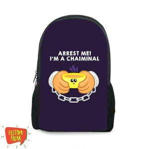Arrest Me I Am Chaiminal - Backpack