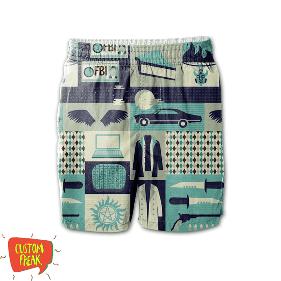 Supernatural Pattern - All Over Printed Shorts