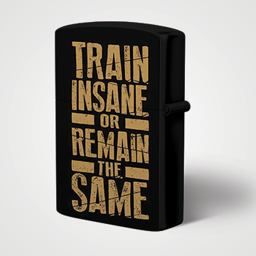 Train Insane Or Remain the Same - Lighter