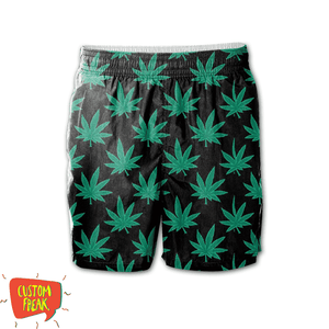 Weed Pattern - All Over Printed Shorts