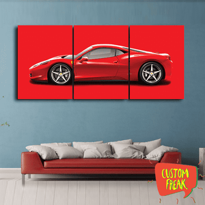 Ferrari - Set Of 3 - Wall Hangings