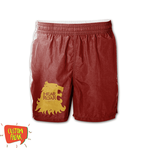Hear Me Roar - Game Of Thrones - Graphic Printed Shorts
