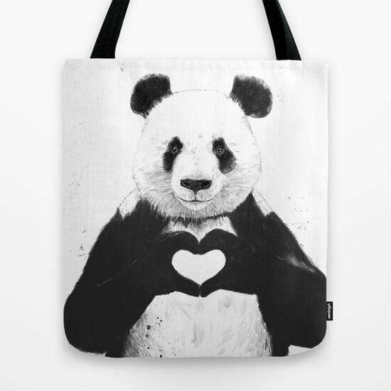 All you need is love - Tote Bag - Custom Freaks