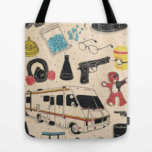 Artifacts Breaking Bad - Tote Bag