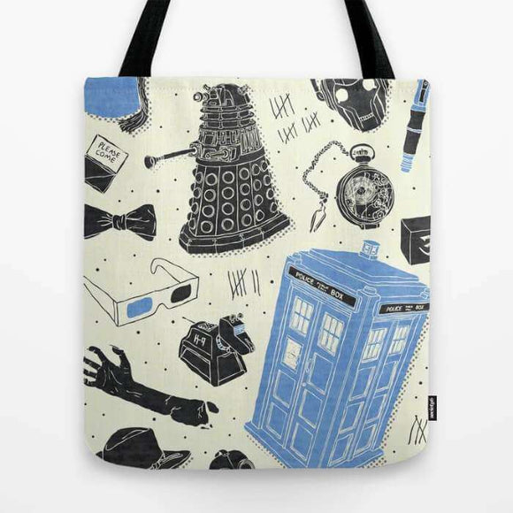 Artifacts Doctor Who - Tote Bag