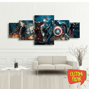 Avengers - Set Of 5 - Wall Hangings