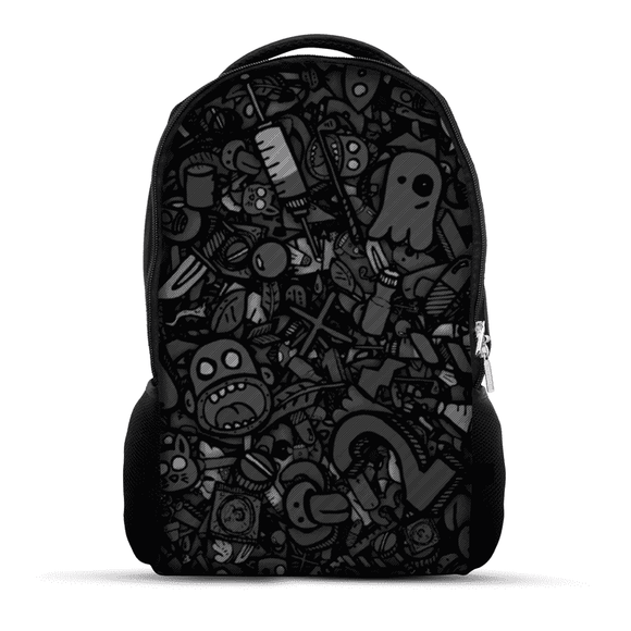 Black Doodle - Backpack