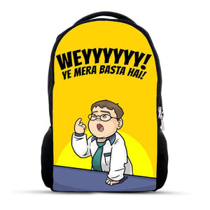 Ye Mera Basta hai - Pathan Kid - Backpack