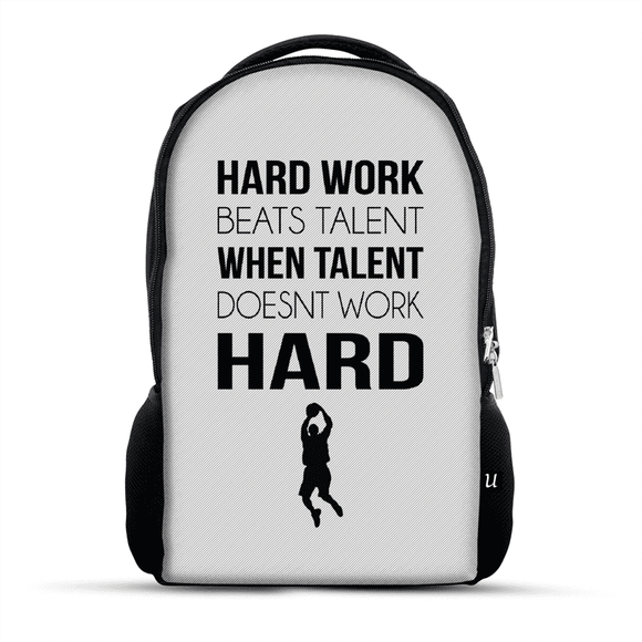 Work Hard - Backpack