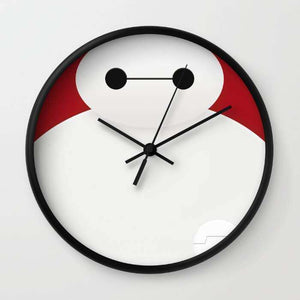 Baymax - Big Hero 6 - Wall Clock
