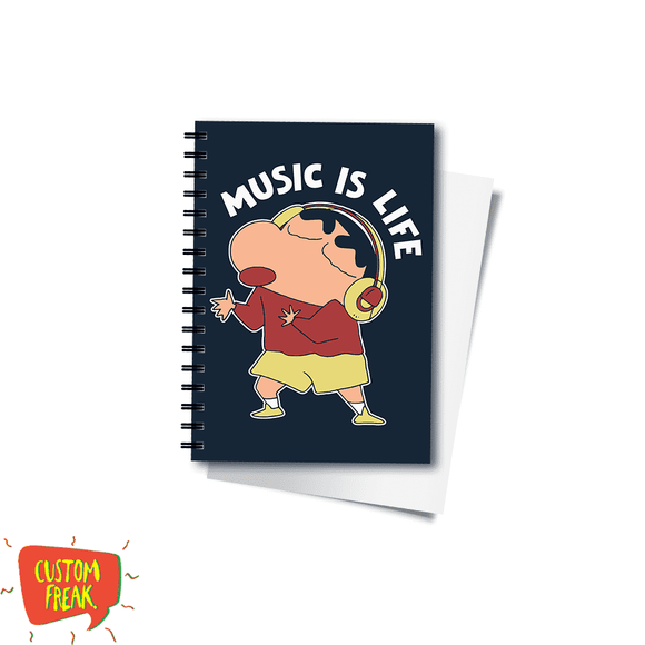 Music Is Life - Notebook