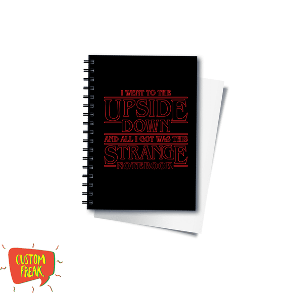 Stranger Things - Notebook