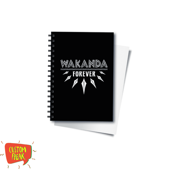 Wakanda Forever - Black Panther - Notebook