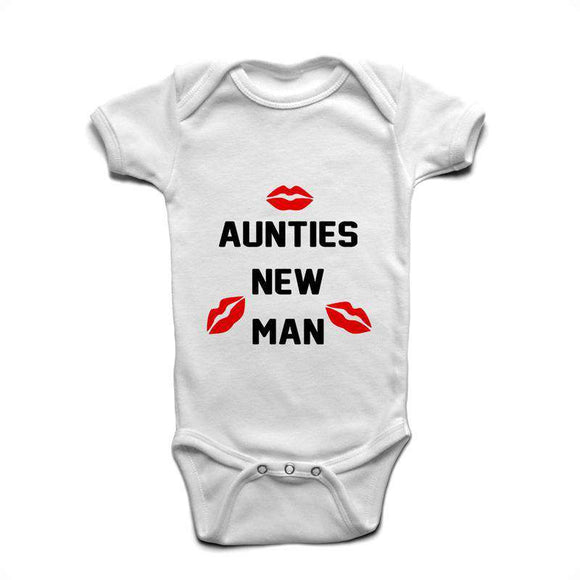 Aunties New Man - Baby Romper
