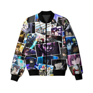 Anime Collage - Bomber Jacket