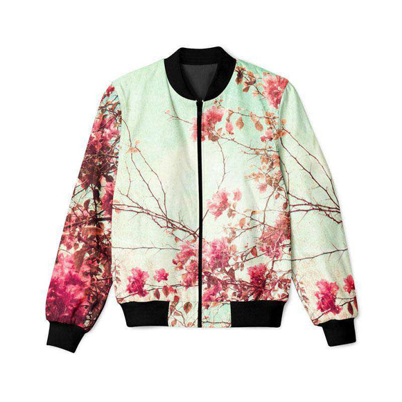 Floral Autumn  - Bomber Jacket
