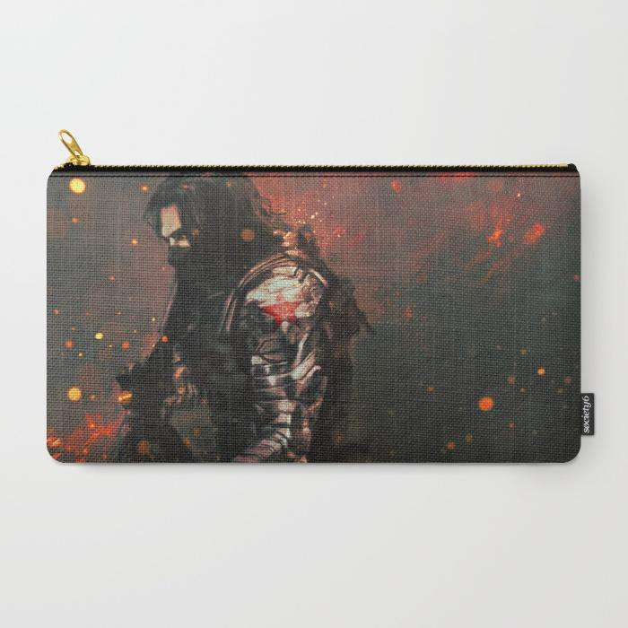 Winter Soldier - Zipper Pouch