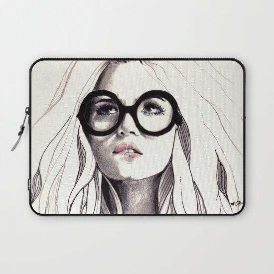 Laptop & Tablet Sleeve Girl