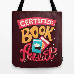 Certified Book Addict - Tote Bag