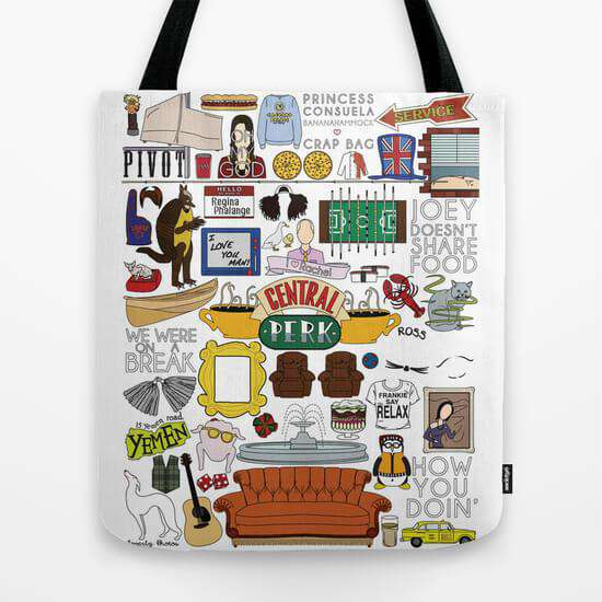 Friends - Tote Bag