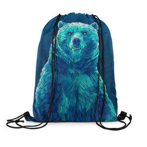 Bear - Drawstring Bag
