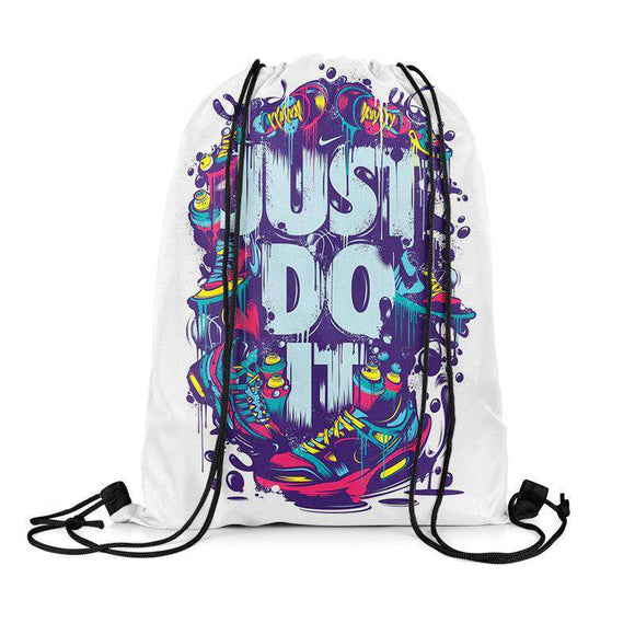 Just Do It - Drawstring Bag