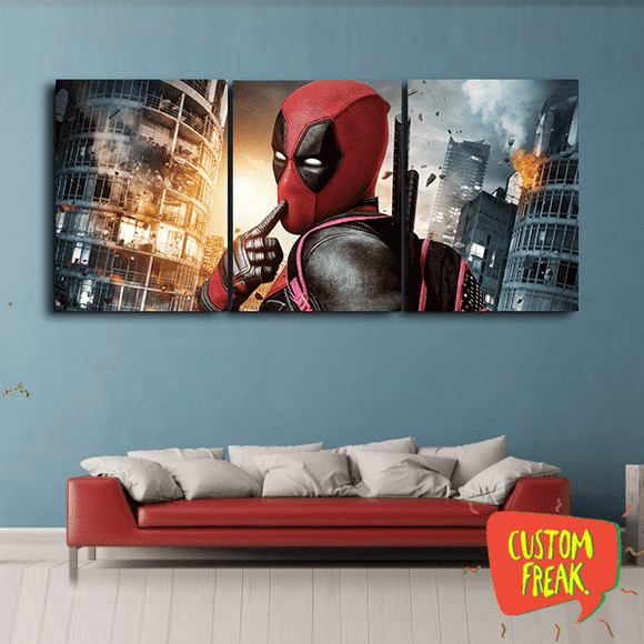 Deadpool - Set Of 3 - Wall Hangings