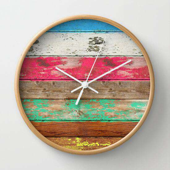 Eco Fashion - Wall Clock