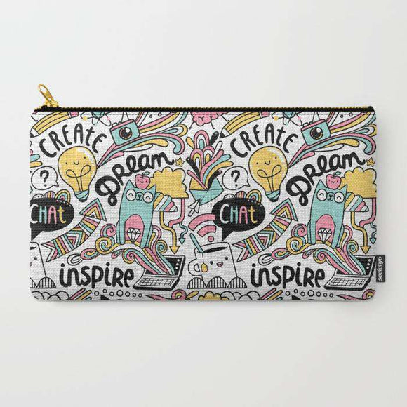 Everyday Patter - Zipper Pouch