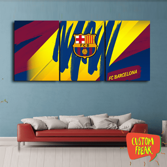 Forca Barca - Set Of 3 - Wall Hangings