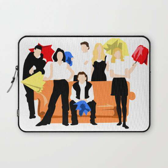 Laptop & Tablet Sleeve Friends
