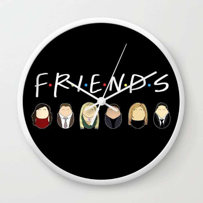 Friends Tiggles - Wall Clock