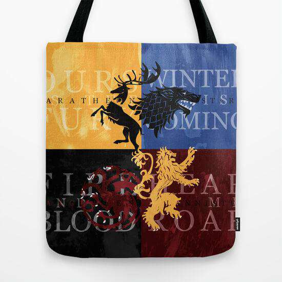 Game Of Thrones - Tote Bag