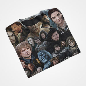 Game of thrones - Collage- All Over Printed T-Shirts