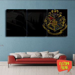 Hogwarts - Set Of 3 - Wall Hangings