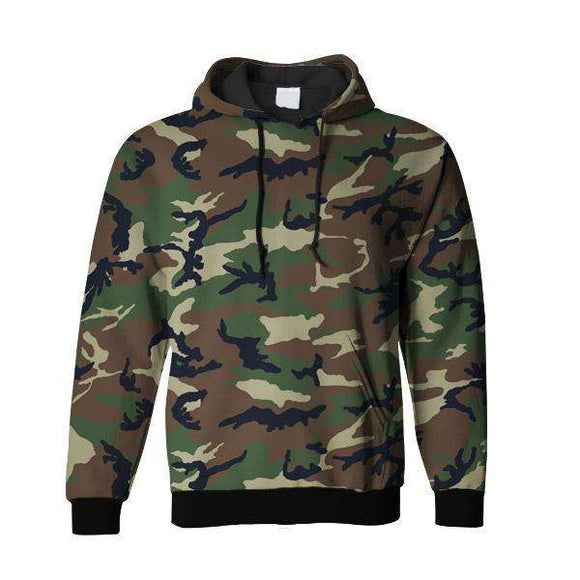Camouflage All Over Hoodie & Sweatshirt
