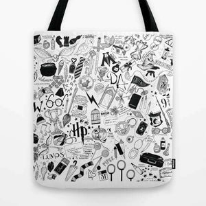 Harry Potter Pattern - Tote Bag