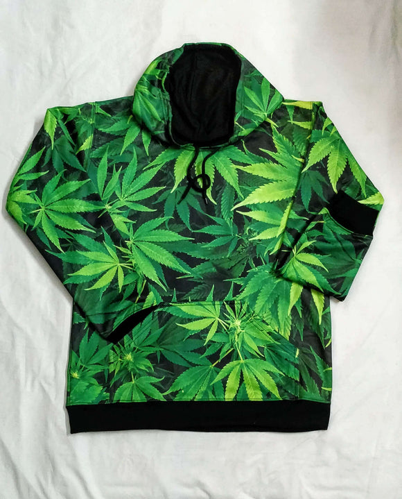 Weed All Over Hoodie & Sweatshirt