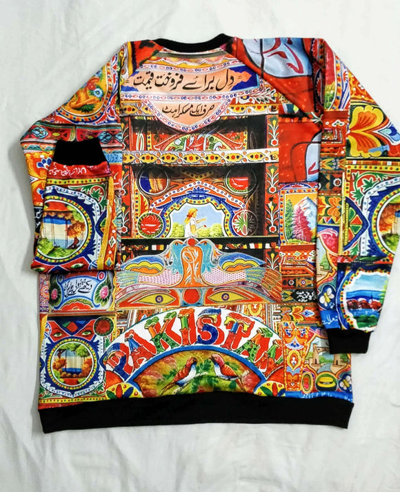 Truck Art All Over Hoodie & Sweatshirt