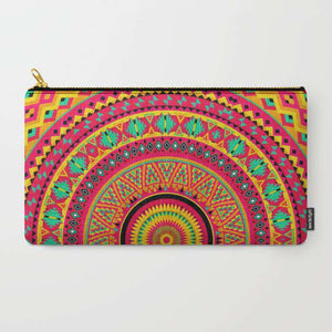 Indian Mandala - Zipper Pouch