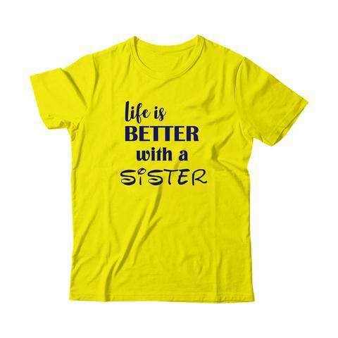 Life is Better with Sisters - Kids Tshirt