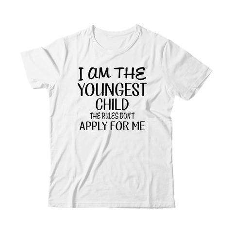 The Youngest Child - Kids Tshirt