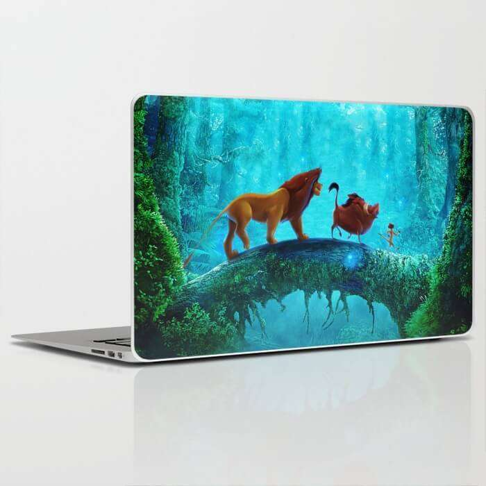 Laptop Skin Lion King